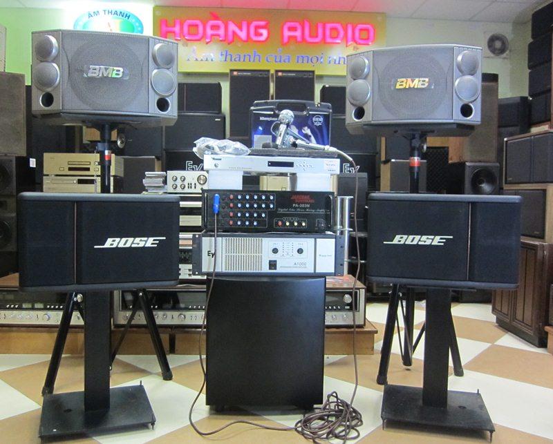 Bộ Dàn Karaoke cho gia đình sử dụng Loa BMB 850 cao cấp