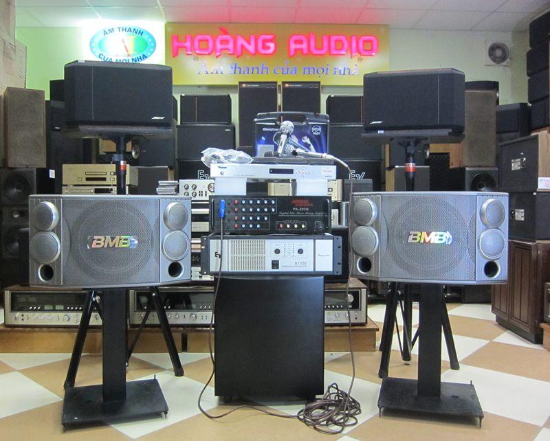 Bộ Dàn Karaoke số 7 cho gia đình cao cấp sử dụng Loa BMB, Bose 301 IV