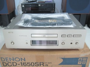 Thumbnail image for Đầu CD Denon 1650SR