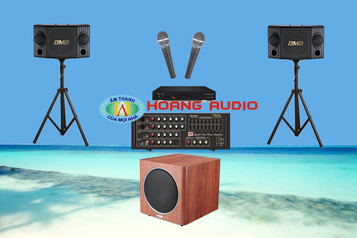 Post image for Bộ dàn karaoke gia đình HO 08