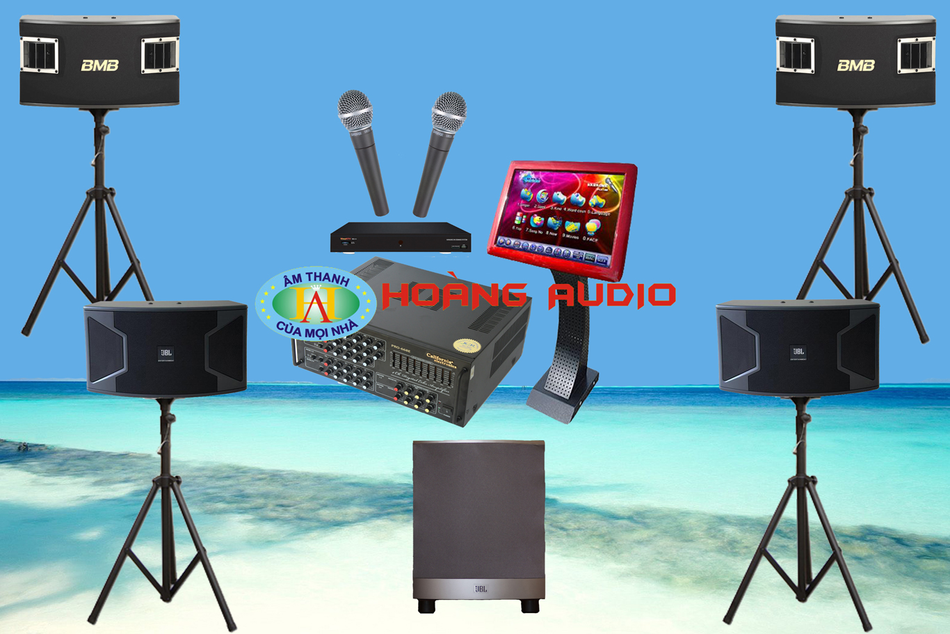 Thumbnail image for Bộ dàn karaoke gia đình HO 10