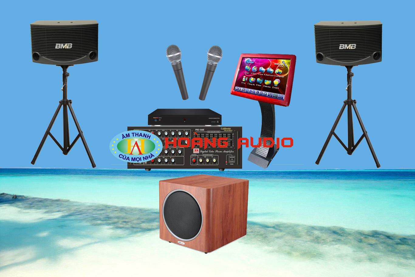 Thumbnail image for Bộ dàn karaoke gia đình HO 12