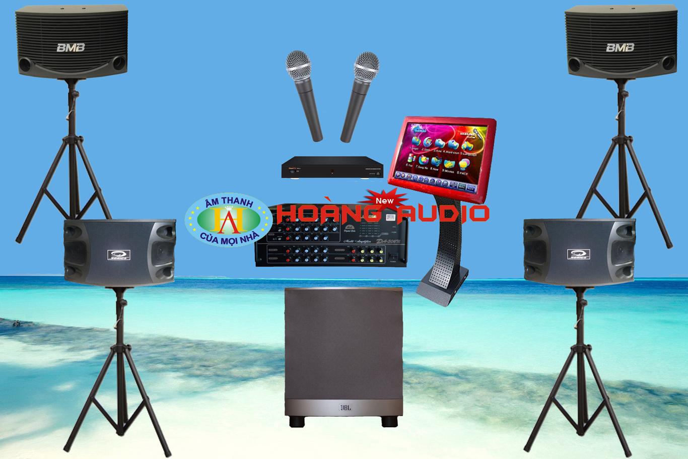 Thumbnail image for Bộ dàn karaoke gia đình HO 14