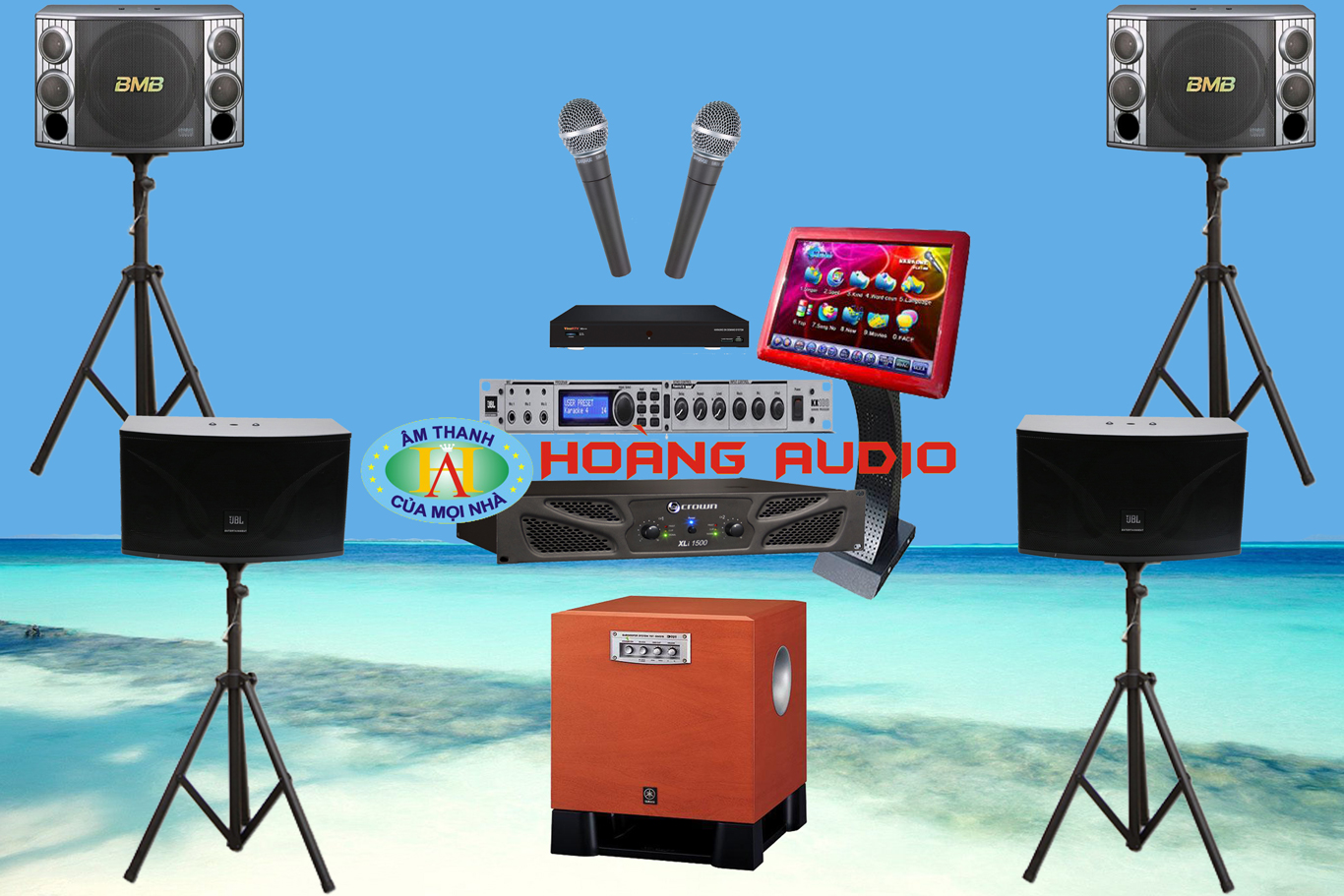 Thumbnail image for Bộ dàn karaoke kinh doanh HO 15