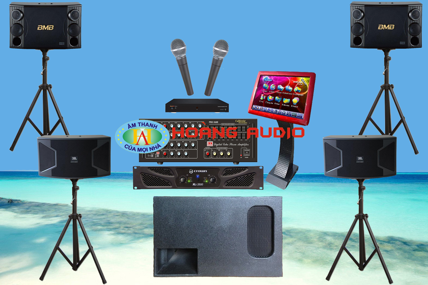 Thumbnail image for Bộ dàn karaoke kinh doanh HO 19