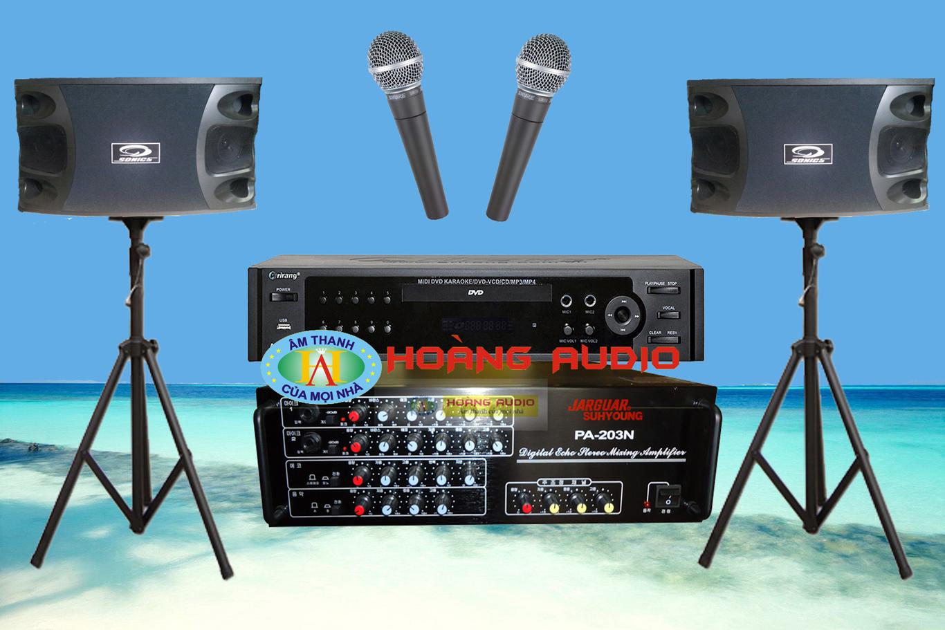 Thumbnail image for Bộ dàn karaoke gia đình HO 24