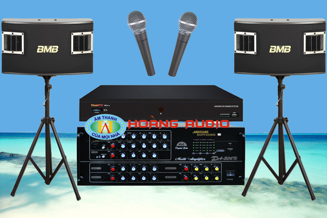 Thumbnail image for Bộ dàn karaoke gia đình HO 26