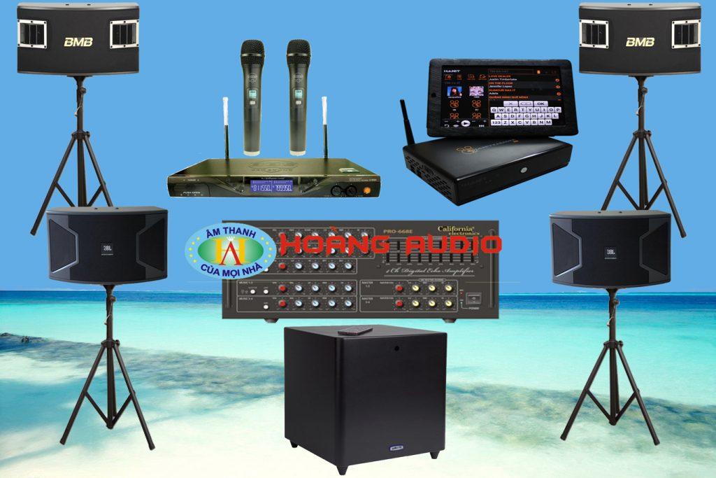 Thumbnail image for Bộ dàn karaoke gia đình cao cấp HO 42 (Phù hợp phòng từ 40 đến 60m2)