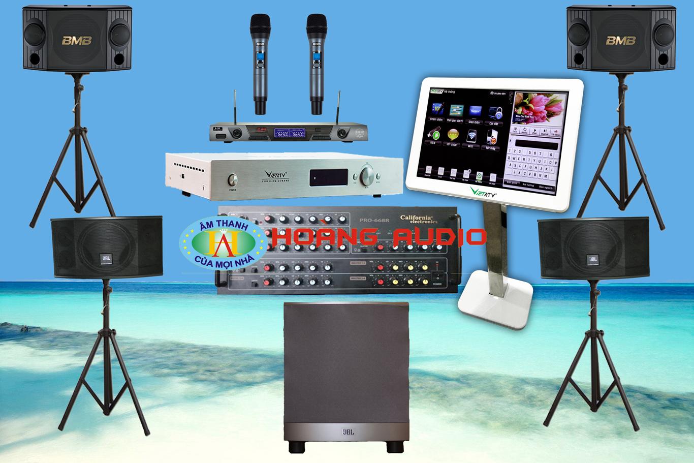 Thumbnail image for Bộ dàn karaoke gia đình cao cấp HO 43 (Phù hợp phòng trên 40m2)
