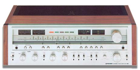 Ampli pioneer sx 1080 chính hãng