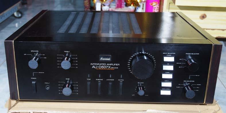 Amply sansui 607 x decade chính hãng