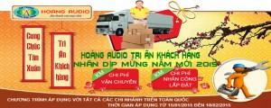Thumbnail image for Khuyễn mãi chi phí vận chuyển, nhân công lắp đặt dàn karaoke đón năm mới 2015