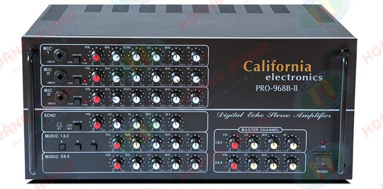 Post image for Tại sao nên chọn amply karaoke California Pro 968B-II