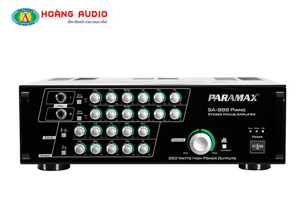 Post image for Khám phá thương hiệu amply karaoke Paramax