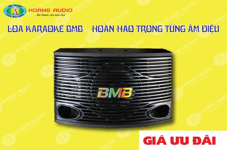 Thumbnail image for Loa karaoke BMB – Hoàn hảo trong từng âm điệu