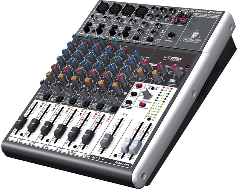 Bàn mixer behringer x-1204 usb cao cấp