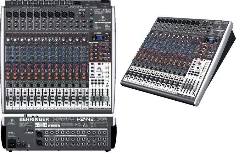 Bàn mixer behringer x-2442 usb cao cấp