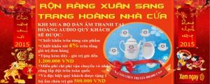 """Post image for Rộn ràng xuân sang trang hoàng nhà cửa – Chương trình KM """"Cực Sốc"""" khi mua bộ sản phẩm của Hoàng Audio"""