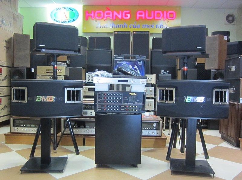 Bộ dàn karaoke cao cấp số 9 cho gia đình loa bmb 450 giá rẻ nhất