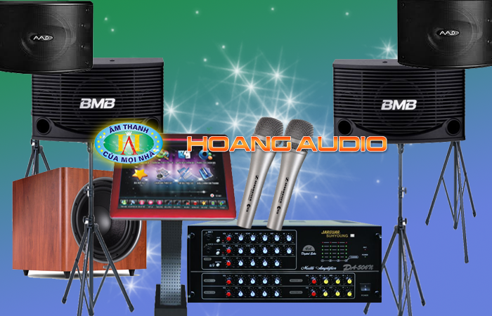 Dàn karaoke kinh doanh số 2 loa bmb 255e chính hãng