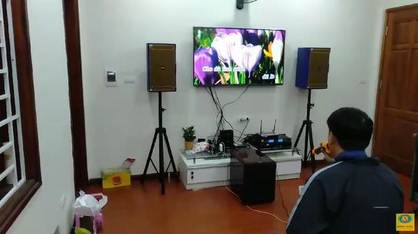 Post image for Bộ dàn karaoke gia đình nhà anh Đào ở Long Biên, Hà Nội
