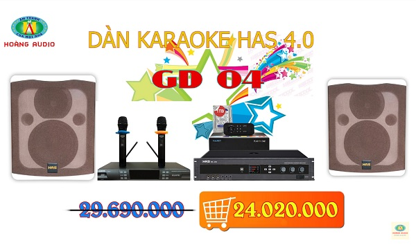 Post image for Dàn karaoke gia đình HAS 4.0 [P2- 03 Mẫu Dàn karaoke 2019]