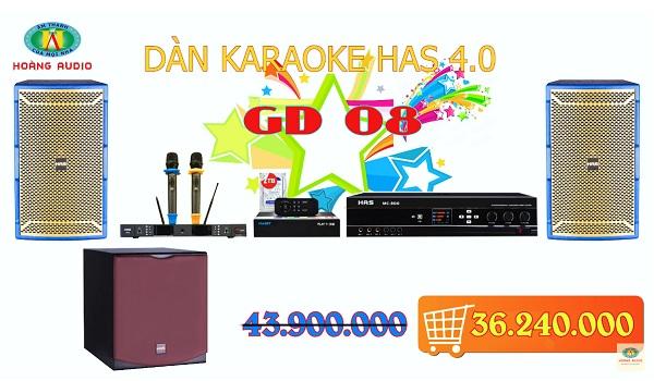 Post image for Dàn karaoke gia đình HAS 4.0 [P3- 03 Mẫu Dàn karaoke 2019]