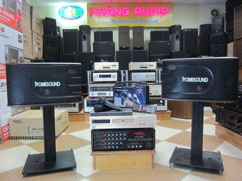 Bộ Dàn Karaoke cho gia đình sử dụng Loa Komisound với giá tốt nhất