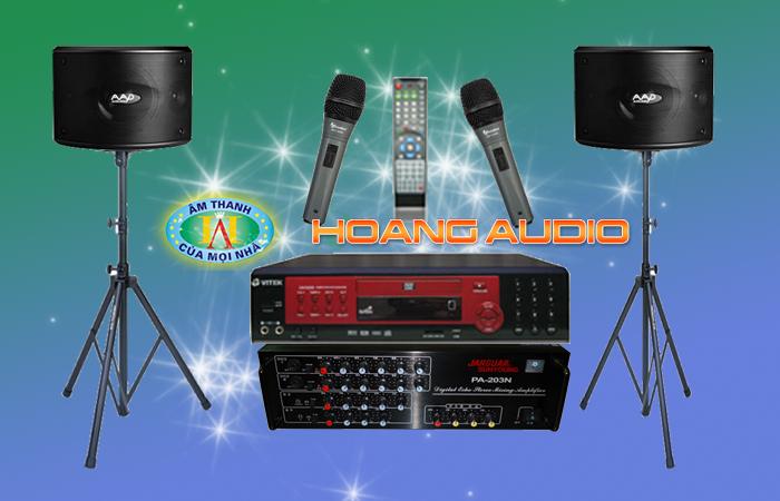 Bộ Dàn Karaoke cho gia đình sử dụng Loa aad với giá rẻ nhất
