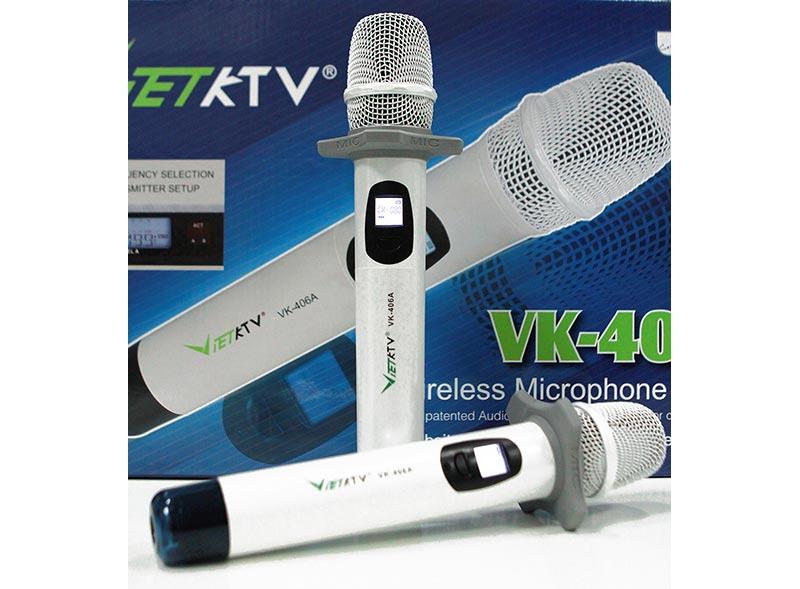 Post image for Micro Việt KTV – micro chất lượng cho dàn karaoke gia đình hoàn hảo