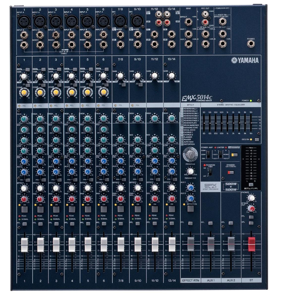 Mixer yamaha 5014c cao cấp