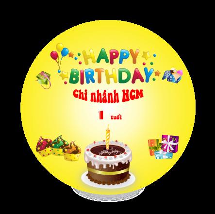 Khuyến mãi sinh nhật TPHCM
