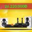 Thumbnail image for Lắp đặt dàn karaoke gia đình 26 triệu cho anh Hoàng