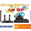 Thumbnail image for Dàn karaoke gia đình HAS 4.0 [P2- 03 Mẫu Dàn karaoke 2019]